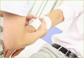 外傷の症状についてのイメージ